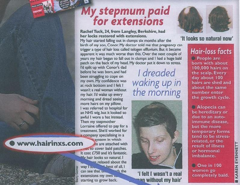 Hair InXs Press Coverage